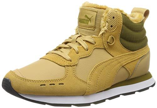 Puma Herren Vista Mid WTR Hohe Sneaker, Taffy-Moss Green White, 43 EU