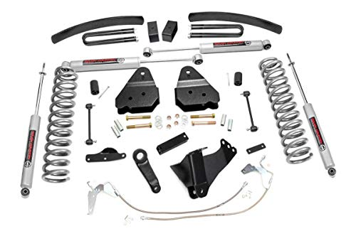 Rough Country 6' Lift Kit (fits) 2008-2010 Super Duty F250 F350 4WD Diesel includes N3 Shocks Suspension System 594.20