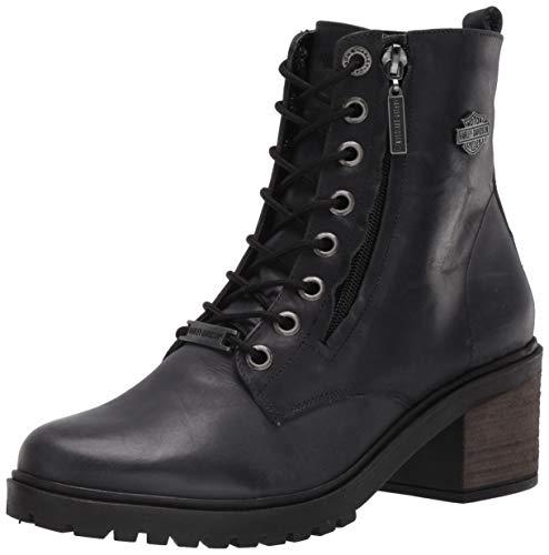 HARLEY-DAVIDSON FOOTWEAR womens Annetta Western Boot, Indigo, 7.5 US