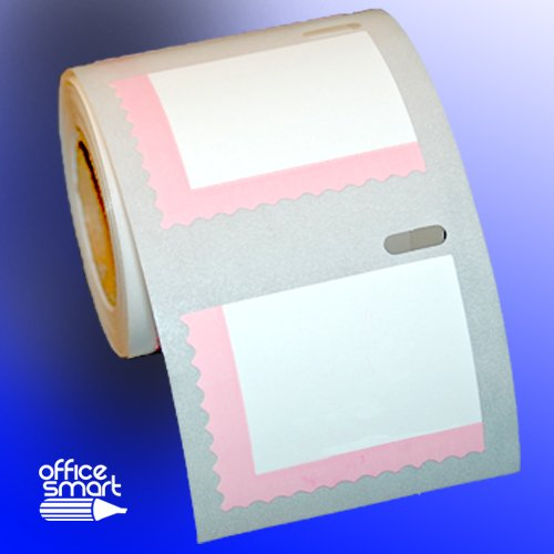 4 Rolls (2,800 Labels) OfficeSmartLabels Compatible with Dymo SHIP-30915 Endicia Internet Postage Stamps for DYMO LabelWriters 400 450 Twin Turbo Duo SE450, 4XL Printer