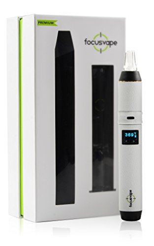 Focusvape Pro Premium Set - Vaporizer/Verdampfer (weiß) NIKOTINFREI!