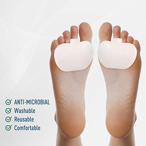 Almohadillas metatarsianas: ideales para pies diabéticos, almohadilla de alivio, fascitis plantar