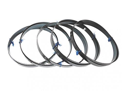 5 x Sägebänder Sägeband 1638 x 13 x 0,65 mm 14ZpZ Metall Bernado Einhell Quantum