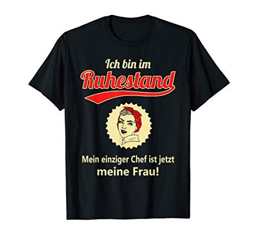 Rentner Rentnerin 2020 Ruhestand Rente Pension Geschenk T-Shirt