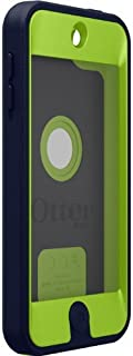 OtterBox Defender Case for Apple iPod Touch 5th Generation - Retail Packaging - (Glow Green/Admiral Blue) (Renewed)