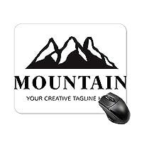 山脈マウスパッド ゲーミング オフィス最適 高級感 おしゃれ耐久性が良 付着力が強い20x25x0.3cm