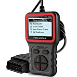 WOHOOH OBD2 Scanner, Car Code Reader Fixed Car Diagnostic Tool, Automotive OBD Check Engine Tools, Read & Erase Fault Codes, Check Emission Monitor Status CAN Vehicles Diagnostic Scan Tool