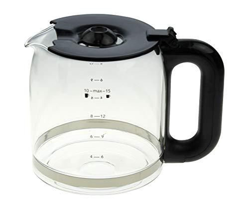 Kaffeekanne schwarz 213070,24001013035 kompatibel mit / Ersatzteil für Russell Hobbs Kaffeemaschinen (Beschreibung)