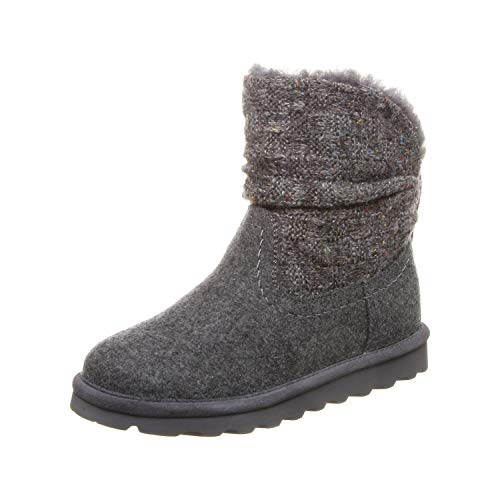 Bearpaw Damen Virginia Schlupfstiefel, Grau (Gray Ii 055), 38 EU