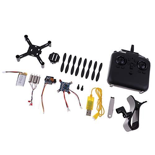 P Prettyia Kit Desmontado Mini Drone Quadcopter Control Remoto Regalo de Juguete para Niños RC Helicóptero