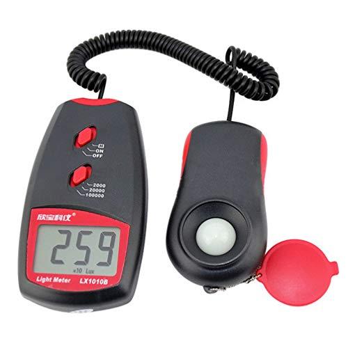ULTECHNOVO misuratore di illuminamento digitale misuratore di luce misuratore di luce digitale palmare luxmetro per ufficio a casa ufficio scolastico