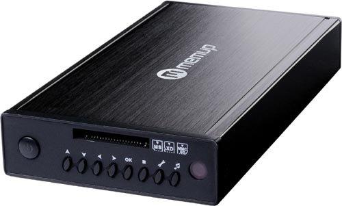 Verbatim MediaStation HD DVR Network Multimedia Recorder 1TB Reproductor Multimedia y Grabador de Sonido WiFi Negro - Reproductor/sintonizador (7200 RPM, NTFS, SD,SDHC, 1000 GB, 3.5