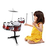 Chilartalent Kids Toy Small Plastic Drum Set for Toddlers 1 - 5 Years...