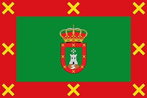 magFlags Bandera Large Berzocana, Cáceres, España | Bandera Paisaje | 1.35m² | 90x150cm