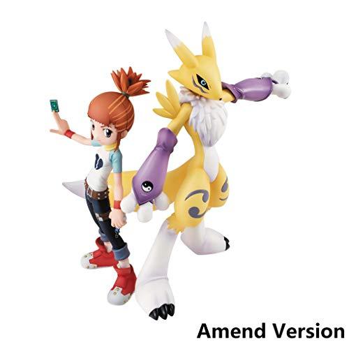 Digimon Tamers Renamon & Ruki PVC Figure - Hohe 5,9 Inches