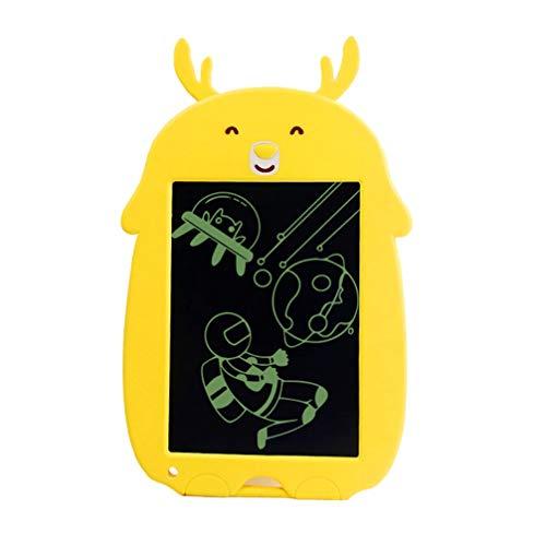 LIOOBO 1 Unid Tablero de Dibujo de 8.5 Pulgadas Pantalla LCD Electrónica de Dibujos Animados Animal Teclado de Escritura Tablero de Escritura Tablero de Graffiti para Niños Niños