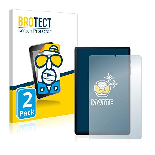 BROTECT 2X Entspiegelungs-Schutzfolie kompatibel mit Samsung Galaxy Tab S6 Lite WiFi 2020 Displayschutz-Folie Matt, Anti-Reflex, Anti-Fingerprint