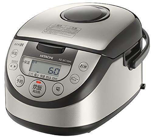 日立 炊飯器 5.5合 IH式 [調理コース]搭載 RZ-BC10M S