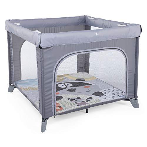Chicco Open Box Laufstall, Reisebett für Babys und Kleinkinder von der Geburt bis zu 15 kg, Faltbares und Kompaktes Reisebett, Babybettchen mit Abnehmbarer Matte, Netz-Seitenfenster