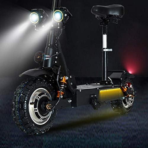 GUNAI 3200W Trotinette Electrique Pliable avec 60V Batterie Au Lithium Vitesse Maximum 80-85km / h