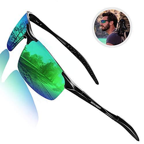 Rocknight Gafas de sol polarizadas para conducir, para hombre, protección UV, ultraligeras, al Mg Golf Pesca Deportes Gafas de sol