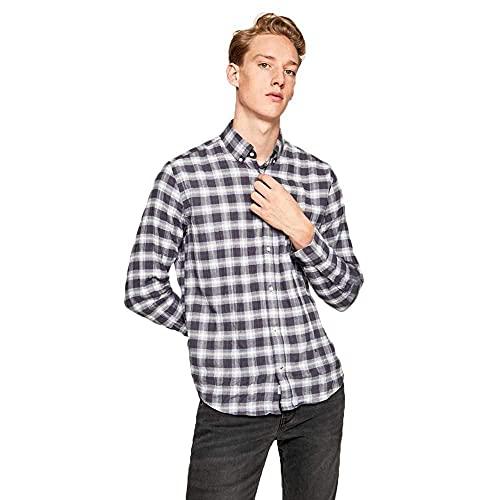 Pepe Jeans Blake Camisa, Multicolor (Multi 0AA), Large para Hombre