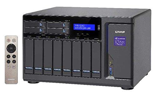 Preisvergleich Produktbild Qnap TVS-1282-i7-32G 3.4GHz 12-Bay NAS 8TB Bundle mit 4X 2TB WD2002FFSX Red Pro