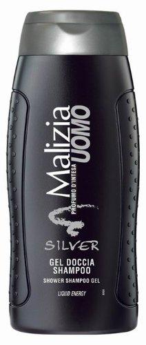 MALIZIA UOMO SILVER Duschgel & Shampoo 2in1 250ml Aloe Vera