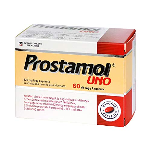 Prostamol Uno relieves complaints related to prostate gland hypertrophy associated with urination