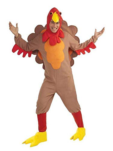 Forum Novelties, Inc Adult Fleece Turkey Fancy Dress Costume Standard