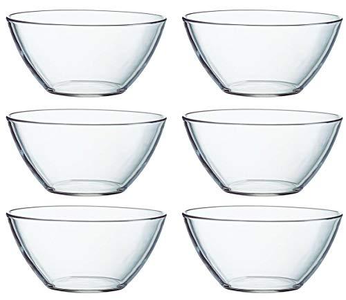 Luminarc Glasschalen Cosmos versch. Größen zur Auswahl (6 x Schale 14cm)