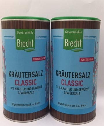 Kräutersalz classic, 2 x 500g