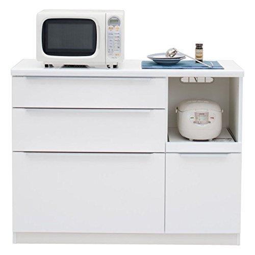 コロンカウンター120ホワイト【幅120.3×高さ93cm】