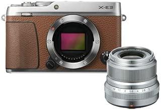 Fujifilm X-E3 Kahve + XF23mmF2 Kit