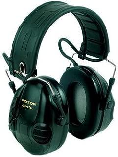 3M PELTOR SportTac Headset, 26 dB, Red / Black Cups, Foldable Headband, MT16H210F-478-RD