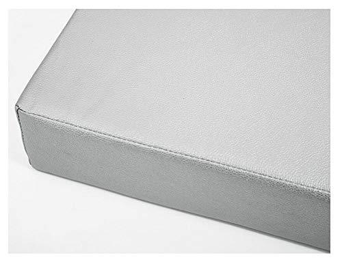bandezid Sitzauflage Bankauflage Auflagen Gartenbank Kissen Bank Auflage Sitzpolster Gartenm Bel 2 er Sitzkissen Bank-Silver Gray 120×30×5cm(47×12×2in)
