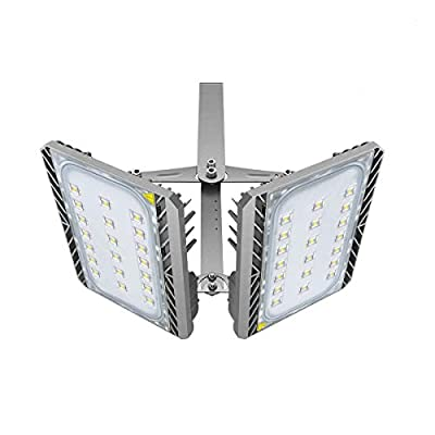 LED Flood Light Outdoor, STASUN 200W 18000lm LED Security Lights with Wider Lighting Area, 3000K Warm White, Built with Cree LED Chips, Waterproof, Great for Yard, Garage, Parking Lot