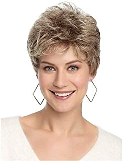 Asdfnfa Messy Wig Fashion Blonde Wigs for Women Synthetic Wig Costume Very Natural Looking