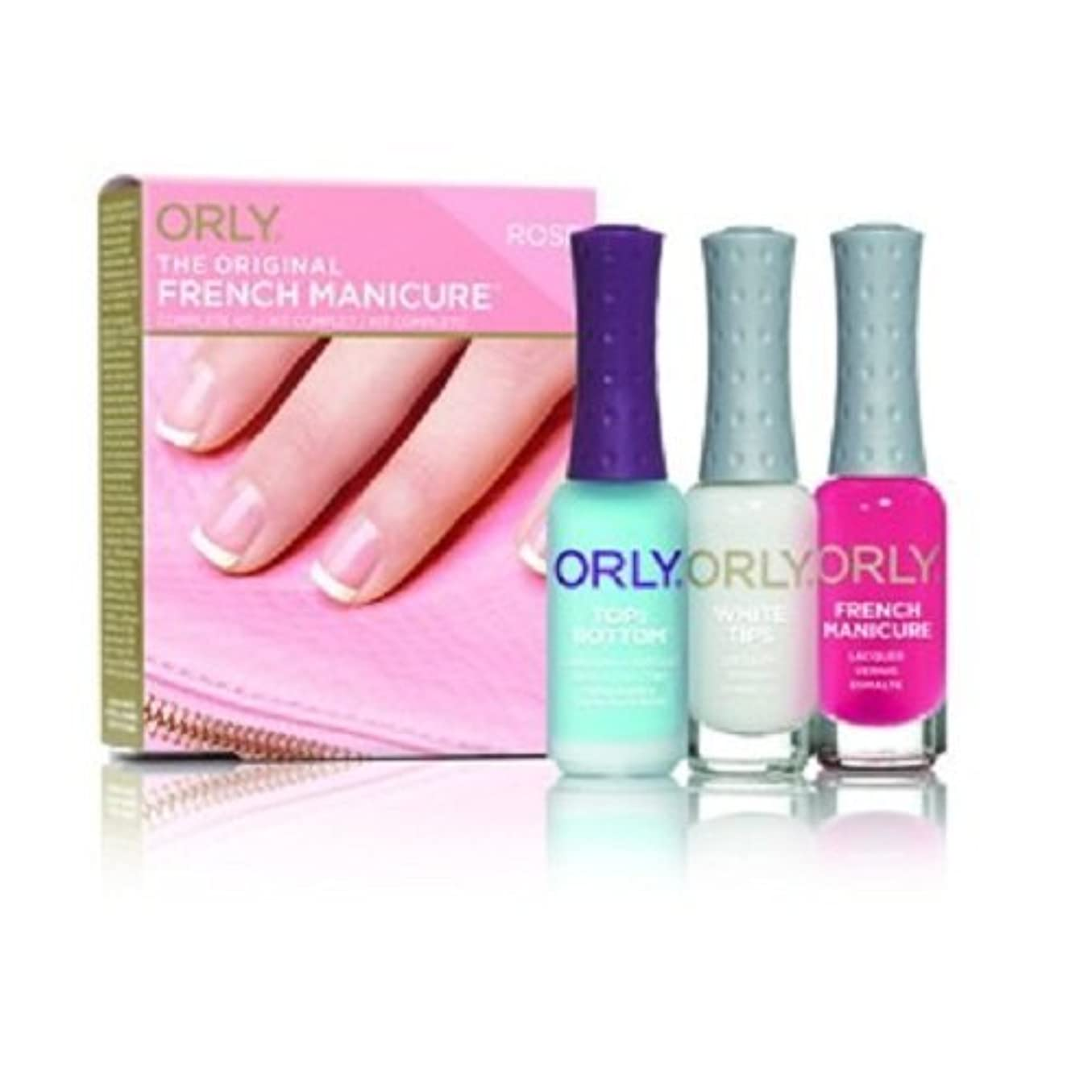 偏見天国不利Orly French Manicure Complete Kit - Rose