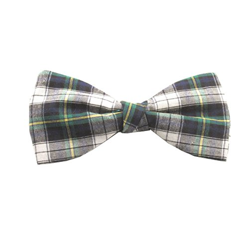 Van Buck England - Nœud papillon - Homme Vert Green, White, Yellow and Blue Taille Unique