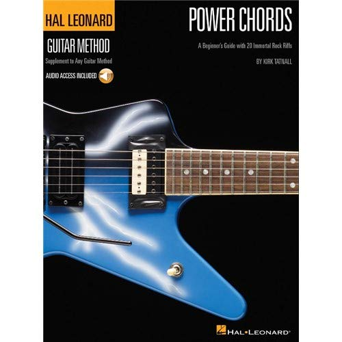 Hal Leonard Guitar Method: Power Chords (Book/CD). Partitions, CD pour Guitare, Tablature Guitare
