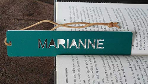 Comfort House Personalized or Monogrammed Bookmark - with Your Name, Message, or Initials P3109
