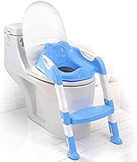 Baby Potty Training Seat Children's Potty Baby Toilet Seat With Adjustable Ladder Infant Toilet Training Folding Seat baby...