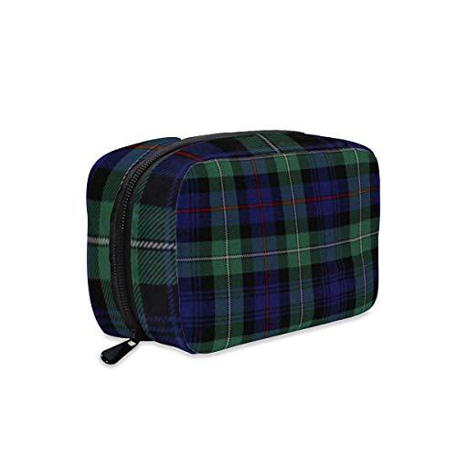 Bolsa de maquillaje para reloj negro con cremallera, bolsa de aseo de viaje, bolsa de aseo de viaje, accesorios cosméticos, bolso grande portátil para mujeres y niñas