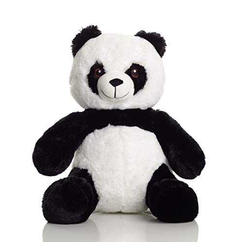 Squirrel Products Cuddle Mates Stuffed Animal Plush Toy - 14 Inch Panda Bear