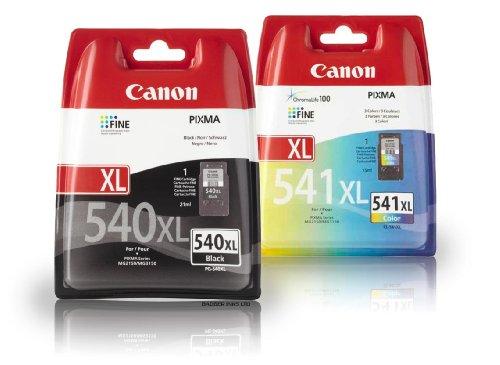 Canon PG-540+ CL-541XL Lot de 2cartouche jet d'encre