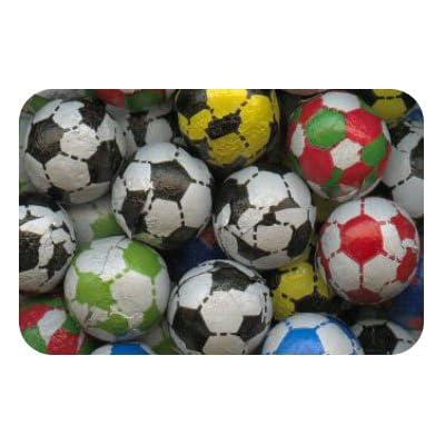 candy chocolate footballs (500 gram approx 105 balls) Candy Chocolate Footballs (500 Gram Approx 105 Balls) 41L3TsUyXxL