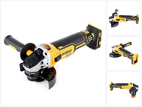 Dewalt DCG405N 18V XR Brushless 125mm Angle Grinder, Multi-Colour