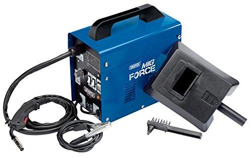 Draper 63669 230V Gasless Turbo MIG Welder (100A), Blu