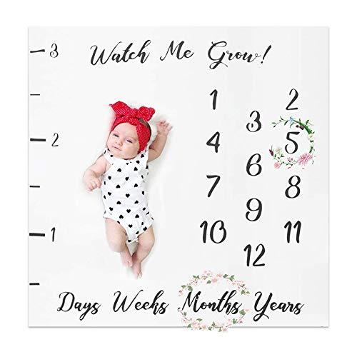 Yuhai - Manta mensual para bebé, diseño de fotos de recién nacido